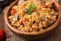 Egy finom Bulgur gombával és csirkemellel ebédre vagy vacsorára? Bulgur gombával és csirkemellel Receptek a Mindmegette.hu Recept gyűjteményében!