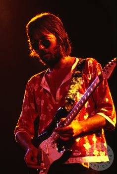 Eric Clapton by Jerry Aronson