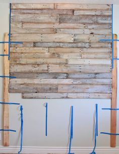 Step by Step on DIY Pallet Headboard. I've been looking for different ideas..and here is only that looks pretty easy to-do!