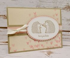 Jen's Scrappy Pages - Love You Lots, Stampin Up