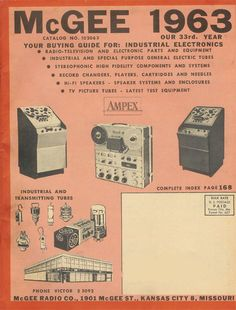 picture of Phantom's 1963 GcGee radio catalog
