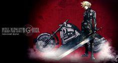 Cloud Promo from Final Fantasy VII G-Bike