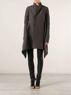 Rick Owens - 'Oblique' Coat