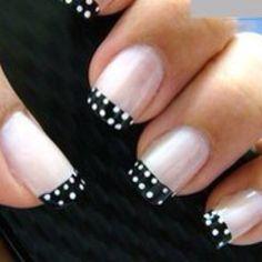 Polka-dot nails :))
