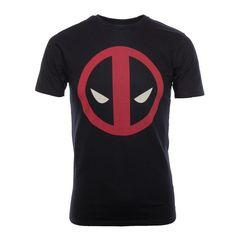 Deadpool: Logo Black T-Shirt - Merchoid