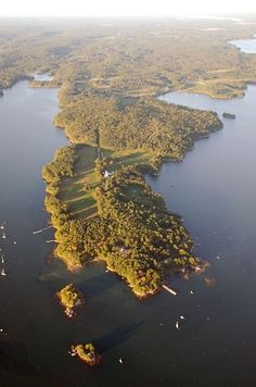 This is Wolf's Neck, Freeport, Maine  - Matt and Elle lived on this peninsula along the Maine coast.