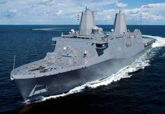 lpd 25 uss somerset san antonio class amphibious transport dock ...