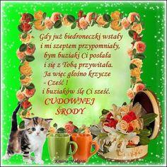 Gify i Obrazki: MILEJ ŚRODY Good Morning, Good Morning Funny, Buen Dia, Bonjour, Good Morning Wishes