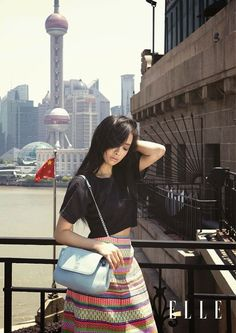 Victoria Song f(x) - Elle June 2014