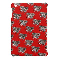Zebra Piano ~ iPad Mini Plastic Case iPad Mini Covers