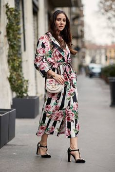 The Latest Street Style From Milan Fashion Week   Who What Wear