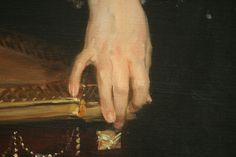 Mrs. Adrian Iselin (detail), oil on canvas, 1888, John Singer Sargent (American, 1856-1925), National Gallery of Art, Washington DC, 2012