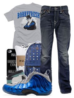 cc6c571fd94ea A fashion look from April 2014 featuring sport t shirt, huf socks and mcm  bag.