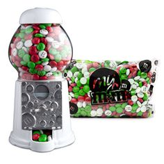 Personalized Gifts: Classic Candy Dispenser with Personalized Chocolate Candies -MYMMS.com.