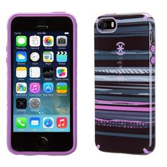 Speck Products CandyShell Inked Case for iPhone - Galaxy Purple/Revolution Purple 5s Phone Cases, Iphone Case Covers, Laptop Cases, Cool Cases, Thing 1, Iphone Accessories, Iphone 5s, Ipad Case, Just In Case