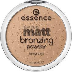 """Essence Sun Club Matt Bronzing Powder in the shade """"Blondes/Lighter Skin 01"""""""