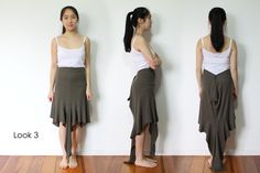 Why wear the same dull thing that other people wear? Express yourself, be unique & different! Upcycle, Harem Pants, Ballet Skirt, Rock, Long Sleeve, Skirts, Sleeves, T Shirt, Crafts