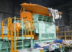 Primary shredder XR2000S Wood Waste, Industrial Waste, Technology, Tecnologia, Tech, Engineering