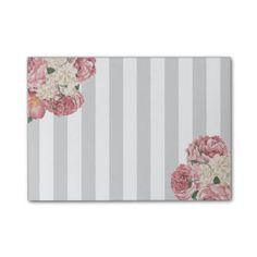 Dainty, Rose and Stripes Post-it® Notes