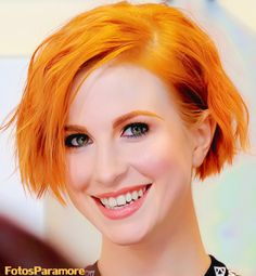 Hayley Williams' hair always has the best colors