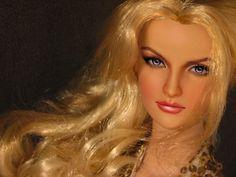 Tonner Emilie repaint by Karen Ashford Human Doll, Beautiful Barbie Dolls, Barbie Collection, Barbie World, Doll Face, Model Agency, Fashion Dolls, Art Dolls, Awesome Art