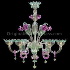 Shop the best Murano venetian Glass chandeliers collections, wall lamps, table lamps, Venetian sconces. Shop the largest Murano glass lighting collection. Gorgeous Glass, Murano Glass, Pink Glass, Murano Chandelier, Chandelier For Sale, Murano Glass Chandelier, Chandelier, Traditional Wall Lighting, Glass Lighting