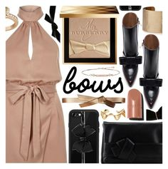 """Bows over Bros"" by pastelneon ❤ liked on Polyvore featuring River Island, Burberry, L'Autre Chose, BCBGMAXAZRIA, Panacea, Marni, Casetify, Arme De L'Amour, Allurez and Aamaya by Priyanka"