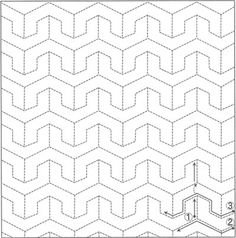 Shashiko Patterns