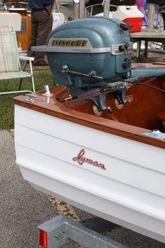 Algonac, Michigan Has Become Lyman-ville, Michigan For The Weekend! Old Boats, Small Boats, Speed Boats, Power Boats, Lyman Boats, Outboard Boat Motors, Boat Restoration, Vintage Boats, Vintage Tractors