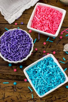 "ShareLearn to make your own sprinkles (or ""jimmies"" or ""hundreds and thousands"") so you never run out! Customize the color and sprinkle them over your favorite baked goods. Every Thursday the local radio station asks people to call in and talk about their simple pleasures. Share"