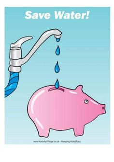 Poster - Save Water!