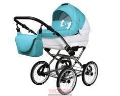Sweet 3w1 wózek dziecięcy w stylu retro, modny design, funkcjonalność i duża radość z korzystania. #wozek #stroller #baby #dziecko Baby Strollers, Babe, Pregnancy, Retro, Sweet Dreams, Children, Design, Pram Sets, Baby Prams