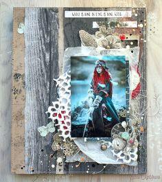 Elena Martynova: ФотоСкрапСмешение 2 и 3 этап