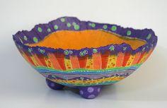 Bowl en Papel Maché   Flickr: partage de photos!
