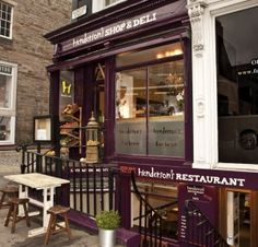 Henderson's of Edinburgh - Vegetarian Restaurant and Arts Venue..I miss this place :-(