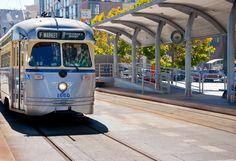 F Trolley, San Francisco, California Product Photography, San Francisco, Editorial, California
