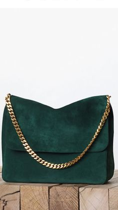 Celine & emerald green