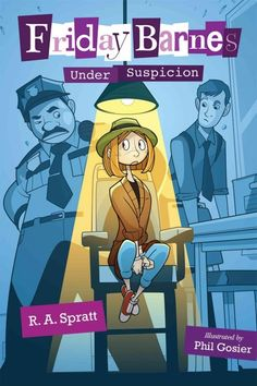 Genius girl detective Friday Barnes tries to solve a series of crimes at her exclusive boarding school, included a bake-off scandal, the mystery of what's buried in the school's backyard, and why the new boy at school is suddenly being nice to her.