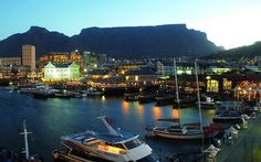 The Victoria & Alfred Waterfront in the historic heart of Cape Town's working harbour is South Africa's most-visited destination having the highest rate of tourists in the hole country.