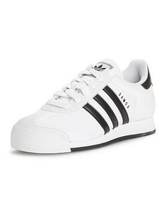 non leather adidas trainers