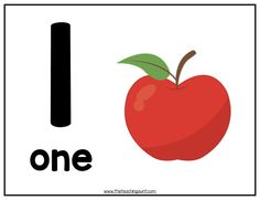 Free apple-themed numbers flashcards from The Teaching Aunt! This free printable is perfect for children who are learning their numbers. Letter Tracing Worksheets, Kids Math Worksheets, Kindergarten Activities, Shapes Worksheets, Handwriting Worksheets, Handwriting Practice, Preschool Activities, Alphabet Wall Cards, Alphabet Crafts