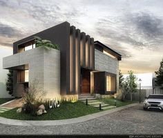 Ideas for modern house design 2019 - EveSteps - architecture this morning . - Ideas for modern house design 2019 – EveSteps – architecture this morning yesterday – - Modern Architecture House, Facade Architecture, Residential Architecture, Architecture Wallpaper, Victorian Architecture, Landscape Architecture, Chinese Architecture, Futuristic Architecture, House Front Design