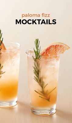 A refreshingly unique drink with a hint of savory rosemary. Perfect for brunches or summer showers! Non-Alcoholic drink, so everyone can enjoy! A refreshingly unique drink with a hint of savory rosemary. Fancy Drinks, Summer Drinks, Non Alcoholic Cocktails, Aperitif Drinks, Mojito Cocktail, Vegetable Drinks, Healthy Eating Tips, Cocktail Recipes, Easy Mocktail Recipes