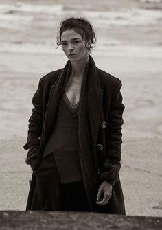Vogue Italia, September 2014 | Mariacarla Boscono photographed by Peter Lindbergh.
