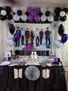Army Party Decorations, Birthday Decorations, Birthday Party Themes, Bts Happy Birthday, Army's Birthday, Bts Cake, Kpop Diy, Bts Birthdays, Birthday Wishes For Myself