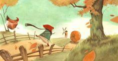 "Daniela Volpari, ""The Roll-Away Pumpkin""."