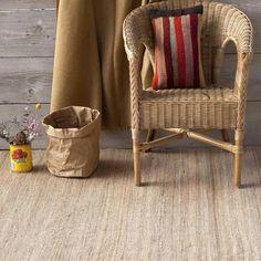 Alfombras de yute o alfombras de sisal