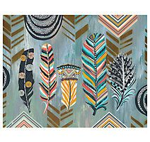 Abstract Feather Wall Art | Arkansasu0027 Largest Furniture HomeStore | Come By  And See Us