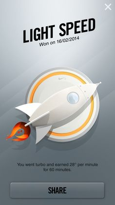 Light Speed | Nike+ Fuelband Trophies