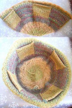 Fulled Pocket Purse pattern